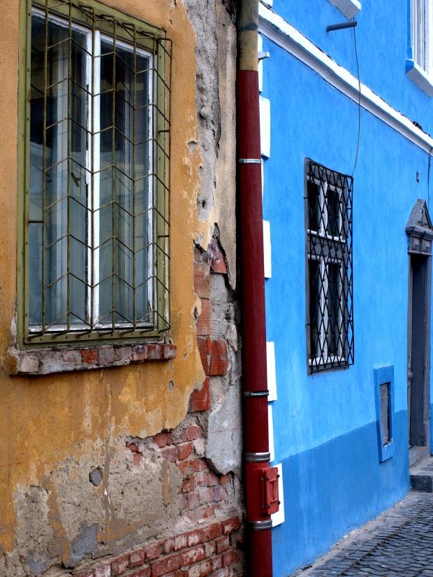 Contrasts in Sibiu
