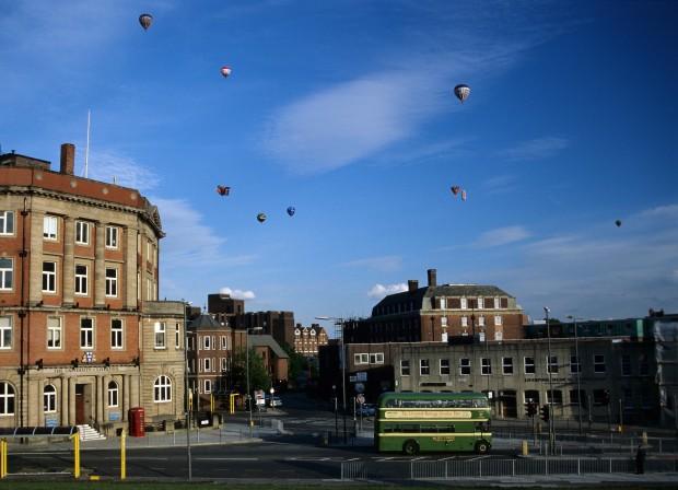 Liverpool's sky